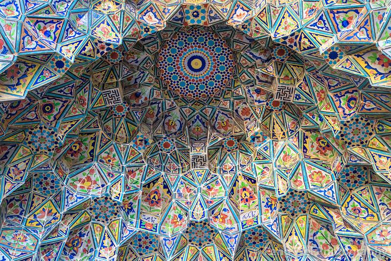Mosque de Jame Atiq, Shiraz, provincia de Fars, Irán