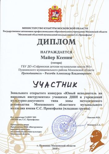 Диплом Майер К