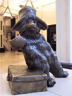 Paddington Bear statue at Paddington station