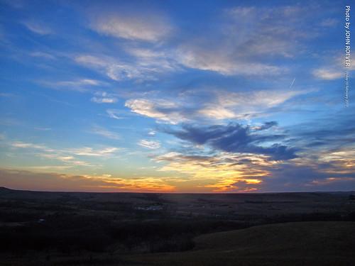 kansas trip roadtrip 2017 february february2017 konzaprairie prairie park rileycounty sunset aftersunset usa