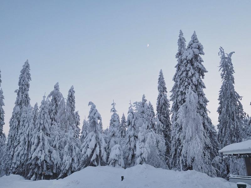 puijo kuopio talvi winter finland