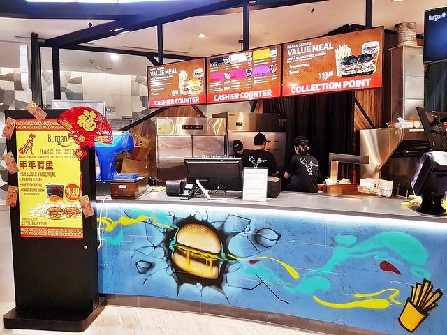 BurgerUP Express Counter
