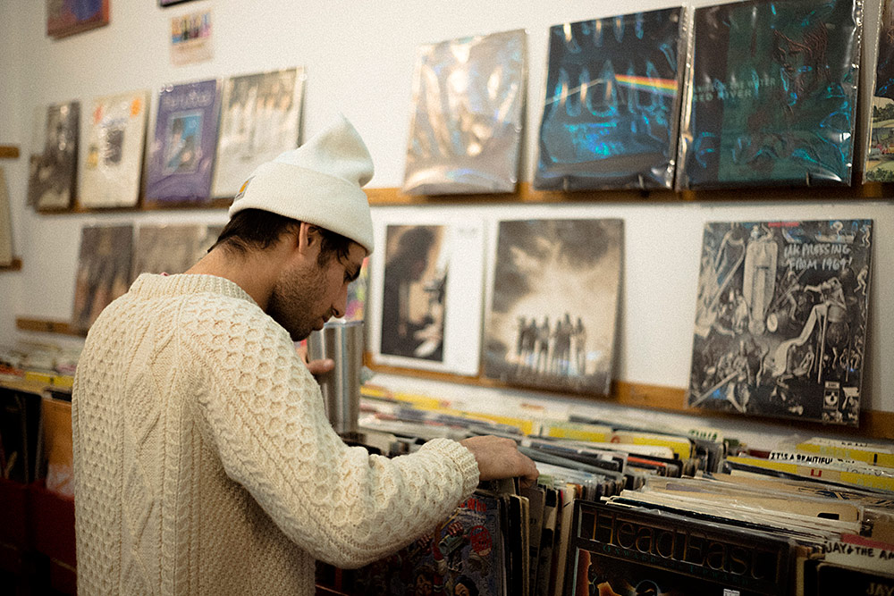 Record Shopping with.. Yoke Lore