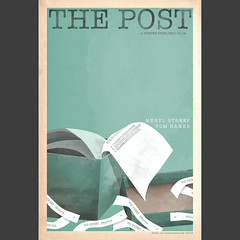 """The Post"" 2017 film poster"