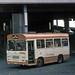 28-09-76 XDT326M Seddon Pennine leaves the Southern Bus Station.
