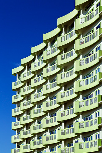 abstract architecture balcony building highrise pattern patterns galveston texas unitedstates us