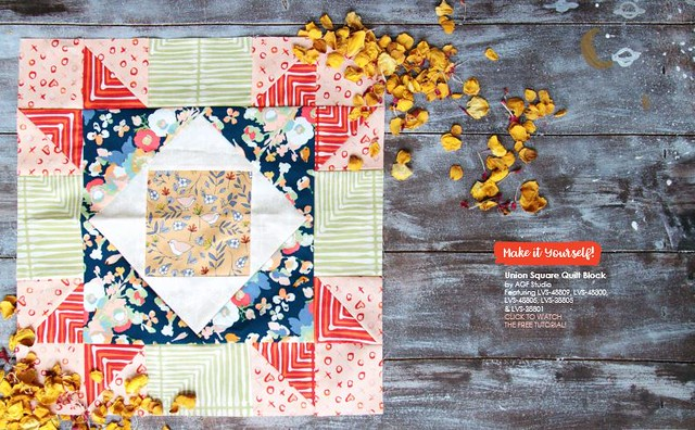 Love Story Quilt Block