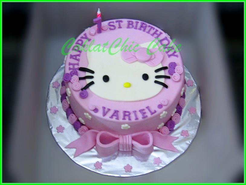 cake hello Kitty Variel 18cm