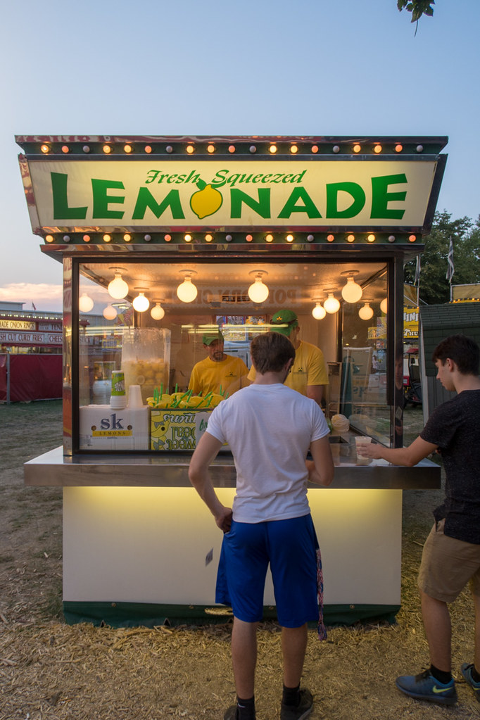 Lemonade Stand at Iowa State Fair