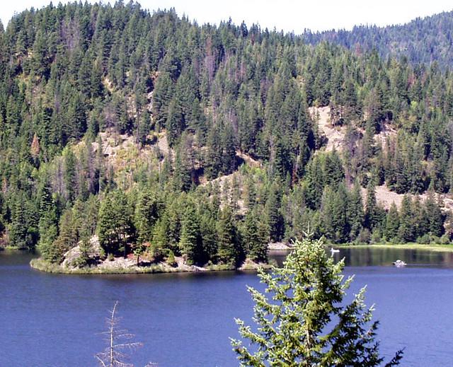 Lake Coeur d' Alene: Popcorn Island