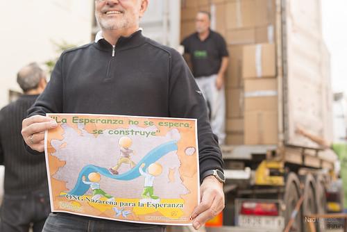 Envío de un nuevo contenedor a Perú de la Ong Nazarena para la Esperanza en Dos Hermanas
