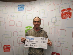 Brian Olson - $1,000 - Regal Riches - New Plymouth - Lowell's Mini Mart