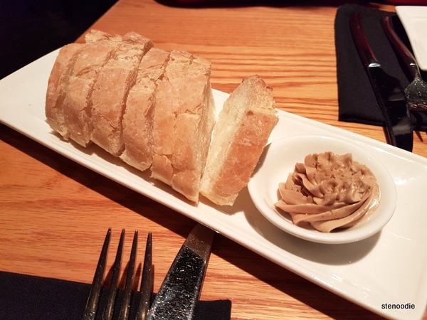 Bread with brown sugar butter