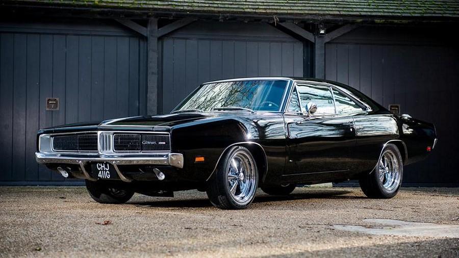 Dodge Charger 'Bullitt' 1969 nosecka