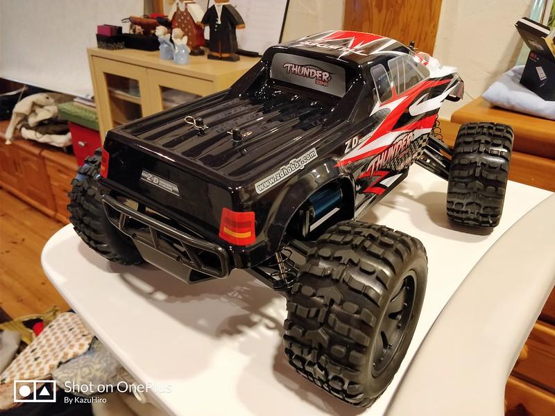 ZD Racing 10427 ラジコンカー 開封レビュー (43)