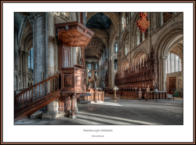 Peterborough Cathedral 2018 - 14 framed