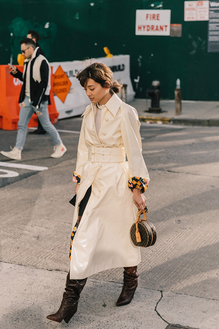 Best Street Style at New York Fashion Week Fall 2018 trend street style fashion outfit 20186