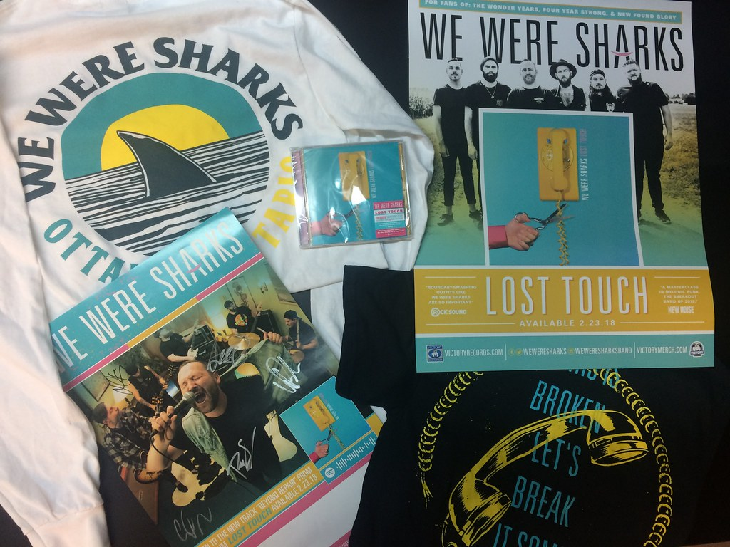 we_were_sharks_exclusive_contest_merch_pack