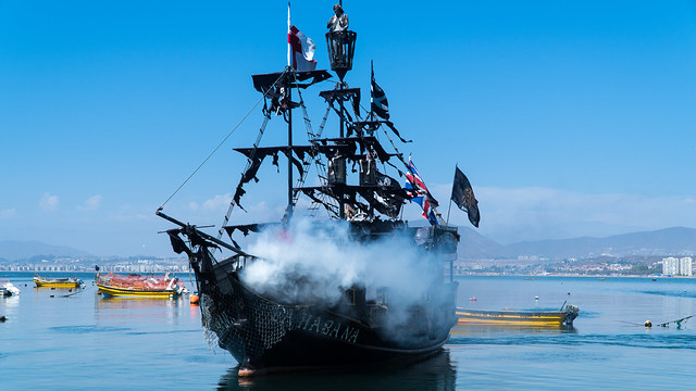 Piratenschiff in Coquimbo