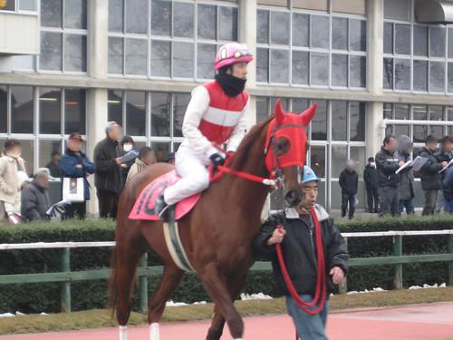 金沢競馬場の古性秀之元騎手