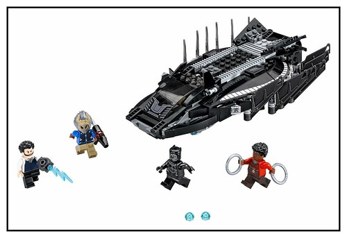 LEGO Marvel Super Heroes Black Panther 76099 & 76100 0-76100