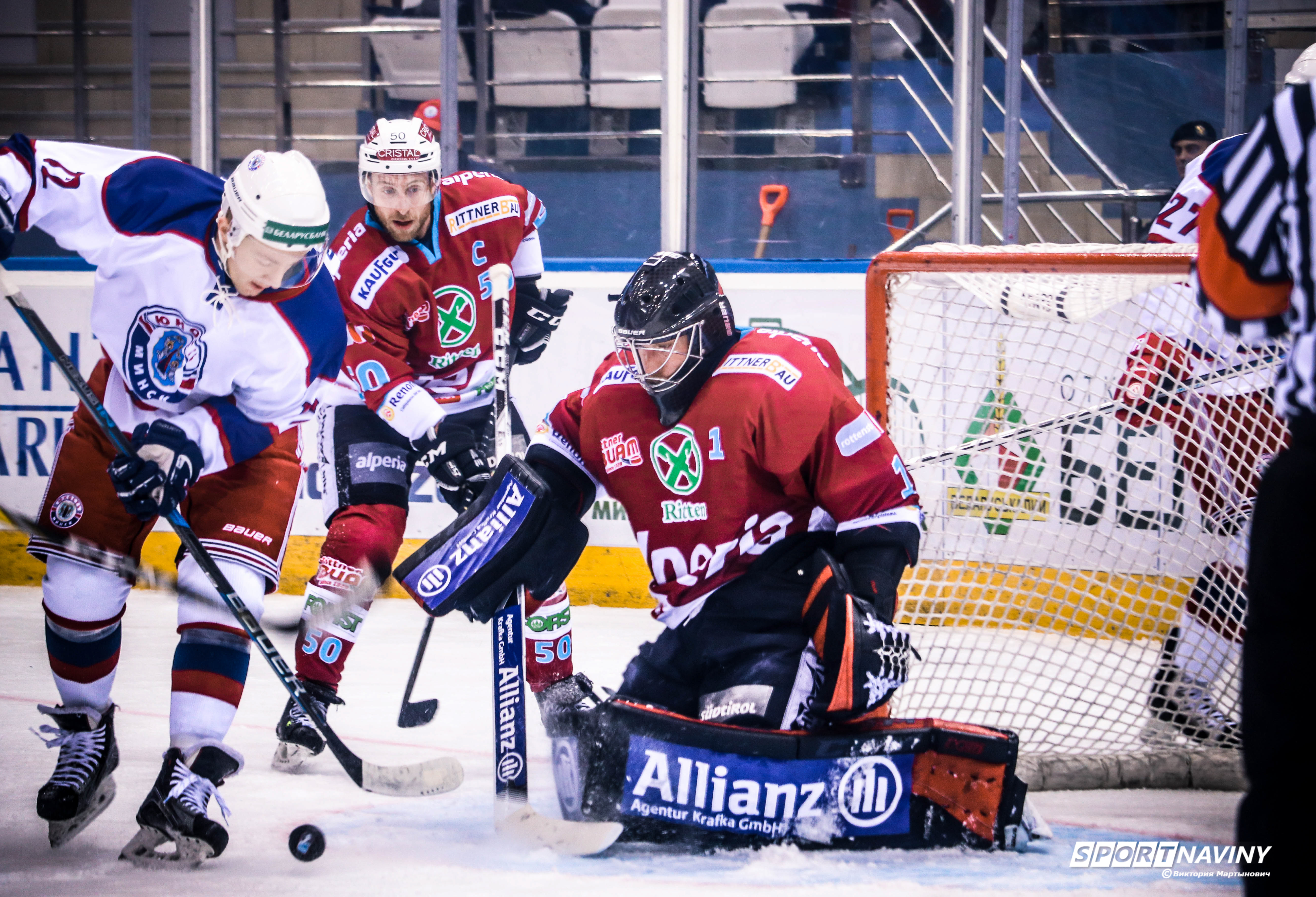 Continental Cup.HC Yunost - HC Ritten Sport.12/01/2018