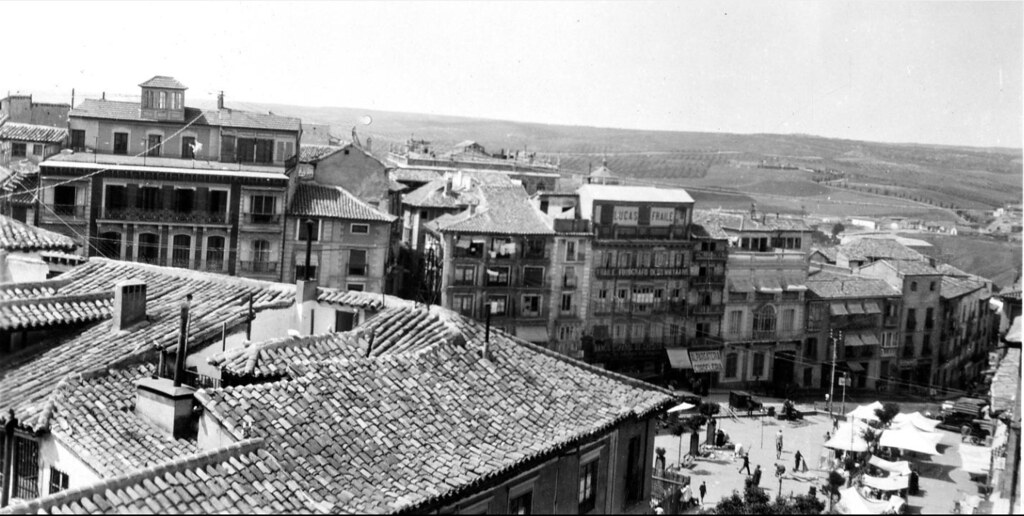 Toledo el 25 de mayo de 1926.Fotografía de Edward Oscar Ulrich © The Smithsonian Institution