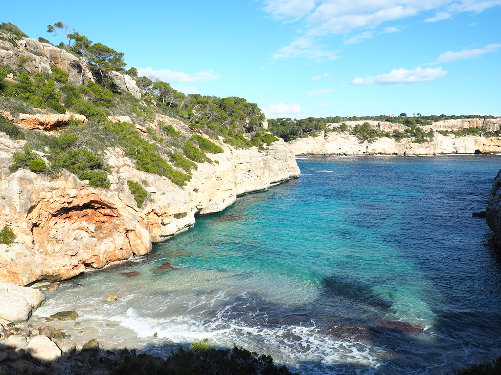The best beaches in Mallorca: Calo des Moro secluded beach