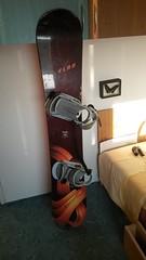 Snowboard ELAN Royale 60 + vázáni Heavy Tools - titulní fotka