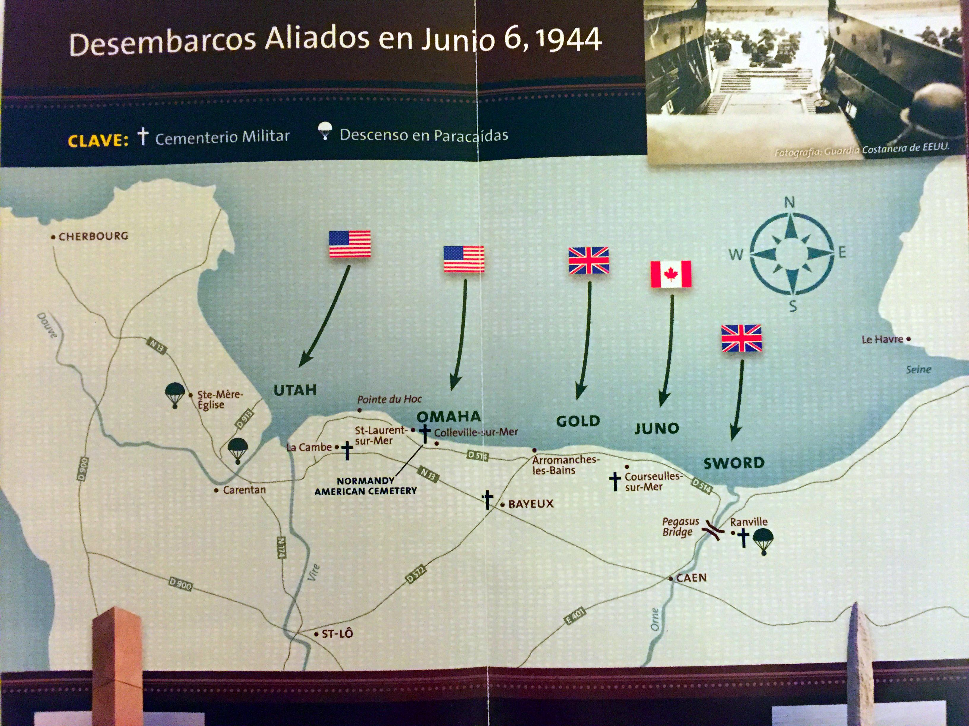 Playas del Desembarco de Normandía, Francia desembarco de normandía - 25008956557 b4eb6e3169 o - Viaje a las Playas del Desembarco de Normandía