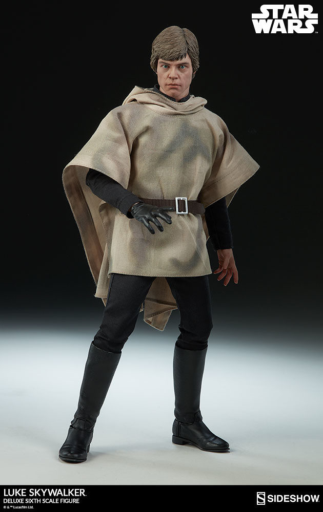 一次擁有三種帥氣造型~! Sideshow Collectibles《星際大戰六部曲:絕地大反攻》路克·天行者 豪華版 Luke Skywalker Deluxe 1/6 比例人偶作品