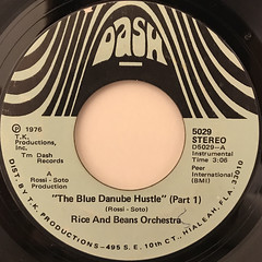 RICE AND BEANS ORCHESTRA:THE BLUE DANUBE HUSTLE(LABEL SIDE-A)