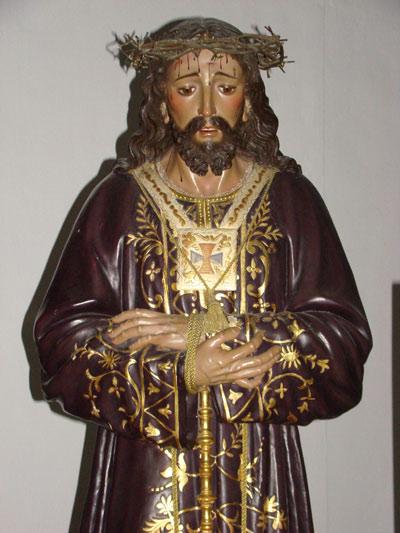 Hermandad y Cofradia de Nazarenos de la Triunfal Entrada de Jesús en Jerusalen,Nuestro Padre Jesús Cautivo y María Santísima de la Paz (Un Paso)