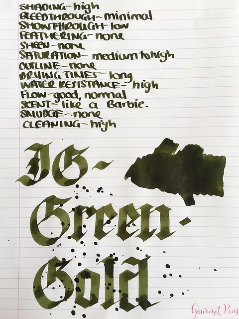 Ink Shot Review KWZI IG Green Gold @AppelboomLaren 5