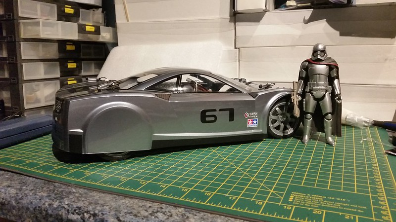 Captain Phasma's Tesla Pace Car and other 1/10 RCs 25472834587_8352b1ce95_c