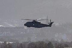 Unidentified Royal Navy Agusta Westland Merlin HM2; Strone Hill, Argyll, Scotland