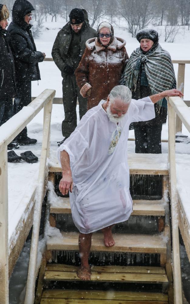 RUSSIA RELIGION EPIPHANY