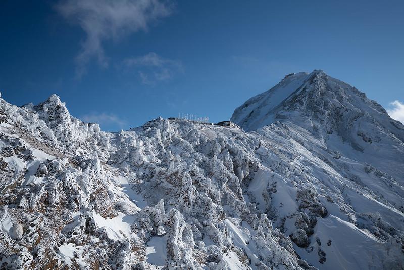冬の八ヶ岳(赤岳)