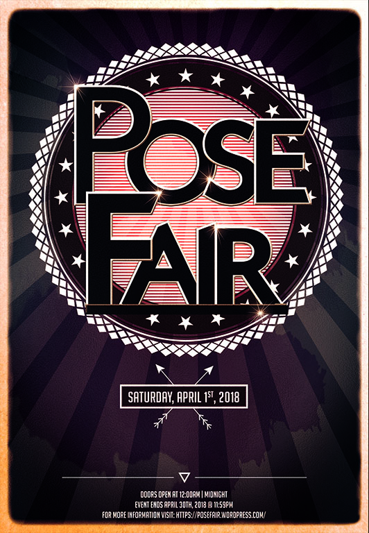 Pose Fair April 2018 - Accepting Participants