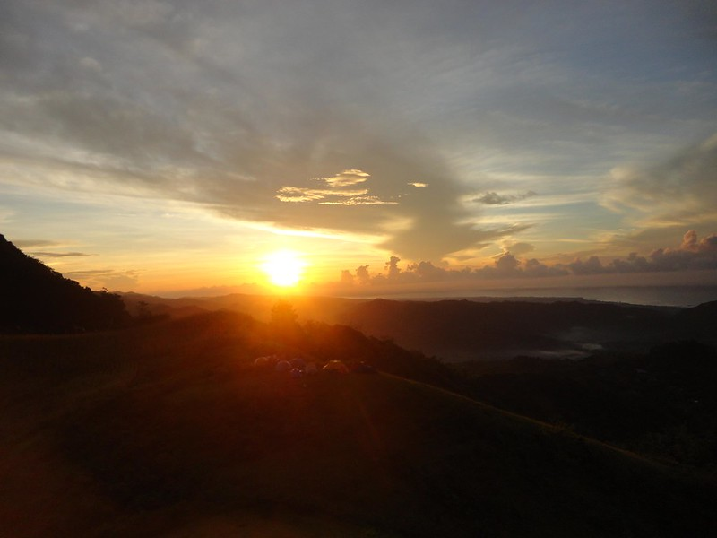 Mt. Naopa sunrise