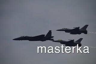 F-16C三機編隊2