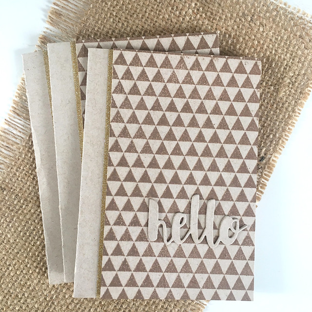 Simple hello cards