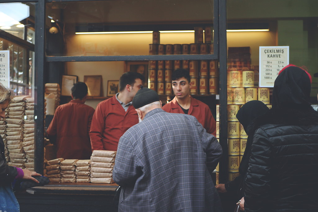 烘焙咖啡專家美美先生