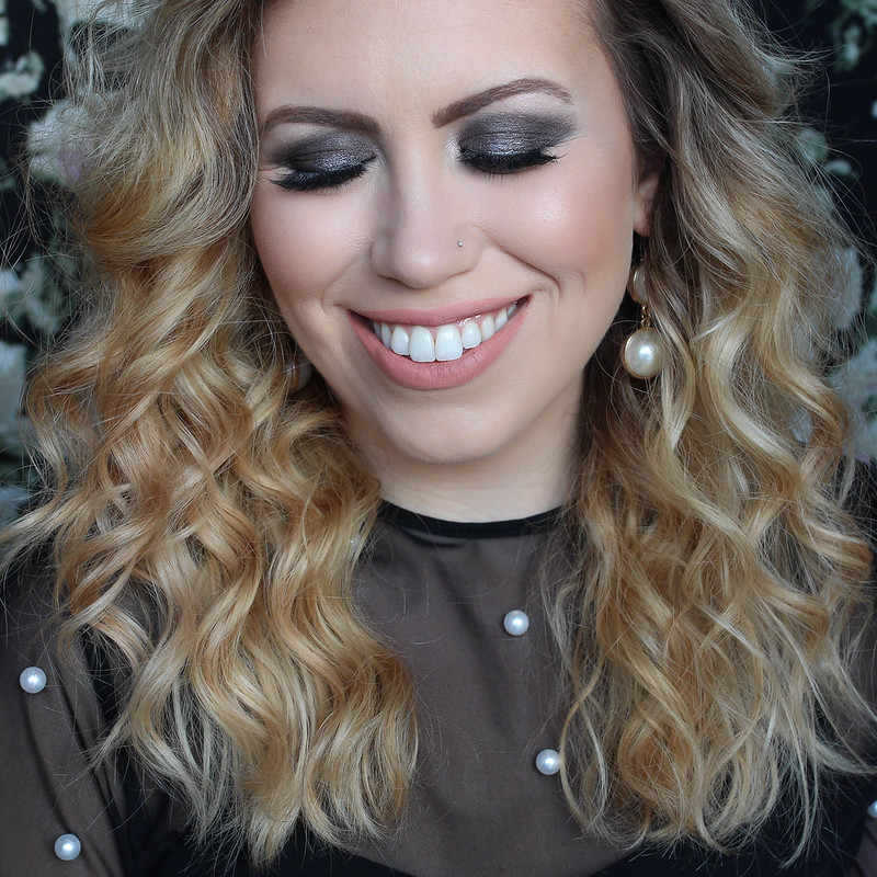 Best Drugstore Makeup Tutorial for Smoky Eyes Living After Midnite Jackie Giardina Beauty Blogger
