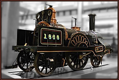 LNWR 2-2-2 No. 1868 'Columbine'