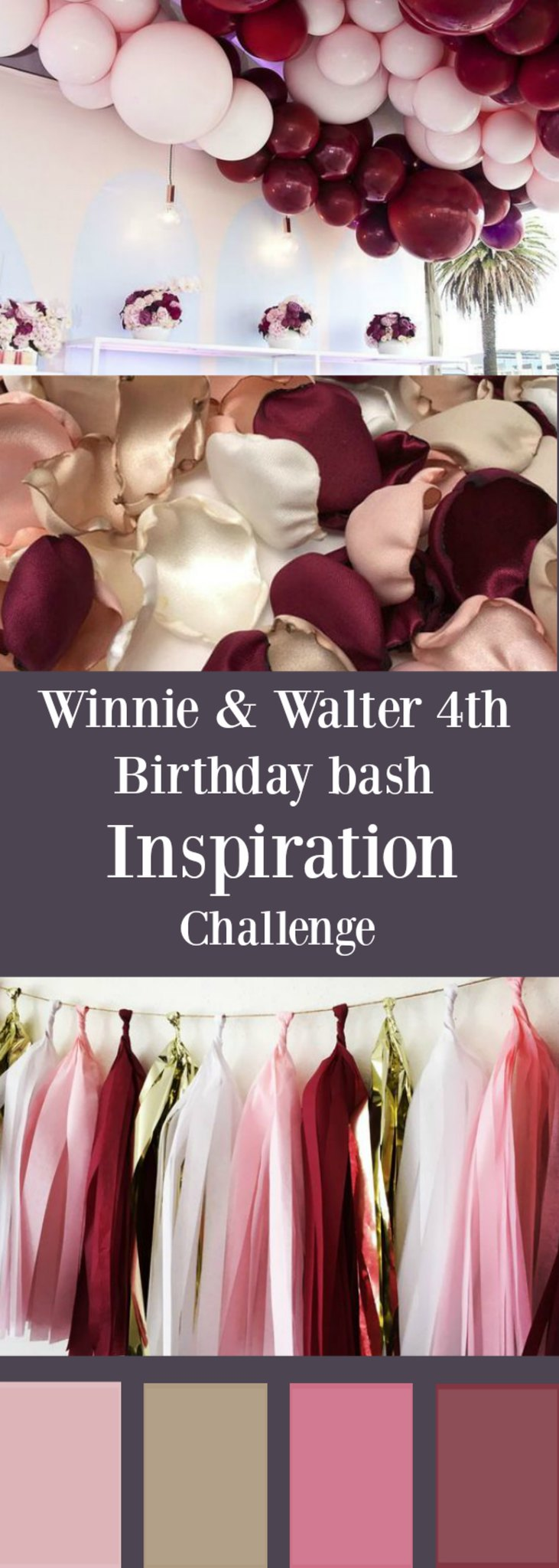 Gayatri Color Board for Winnie & Walter birthday bash