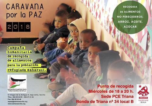Caravana por la paz - PCE Triana