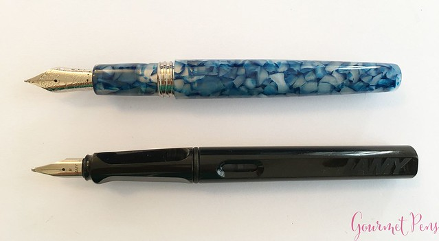 Review Montegrappa Fortuna Mosaico Fountain Pen @Montegrappa1912 @Fontoplum0 @montegrappaUSA 10