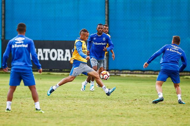 Treino Grêmio 12/02/18