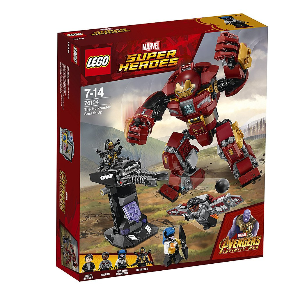 LEGO Marvel Super Heroes 76104 - The Hulkbuster Smash-Up
